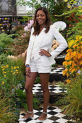 © Licensed to London News Pictures. 23/05/2016. NAOMIE HARRIS attends press day of The Royal Horticultural Society flagship flower show. The show has been held at the Royal Hospital in Chelsea since 1913. London, UK. Photo credit: Ray Tang/LNP
