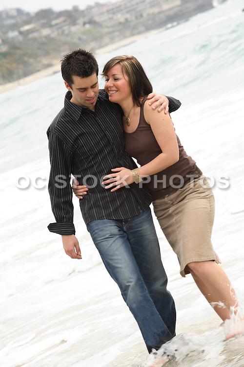 Orange County Couple in Love