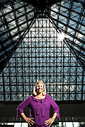 Portrait of Virginia 'Gini' Rometty, CEO of IBM. Photographed by Brian Smale in 2009 for Fortune Magazine's '50 Most Powerful Women' list, at IBM's offices in Somers, NY, when Rometty was SVP Global Sales and Distribution.