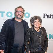 NLD/Amsterdam/20161005 - Filmpremiere Tonio, Hanneke Groenteman en Marcel Musters