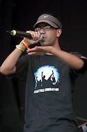 Asian Dub Foundation, Glastonbury Festival, Somerset, Britain - 29 June 2003.