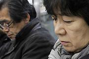 people during commuting Tokyo Japan
