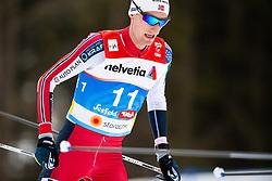 February 22, 2019 - Seefeld In Tirol, AUSTRIA - 190222 Espen Bjørnstad of Norway competes in men's nordic combined 10 km Individual Gundersen during the FIS Nordic World Ski Championships on February 22, 2019 in Seefeld in Tirol..Photo: Vegard Wivestad Grøtt / BILDBYRÃ…N / kod VG / 170288 (Credit Image: © Vegard Wivestad GrØTt/Bildbyran via ZUMA Press)