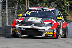 June 23, 2018 - Vila Real, Vila Real, Portugal - Mehdi Bennani from Morrocco in Volkswagen Golf GTI TCR of Sebastien Loeb Racing during the Race 1 of FIA WTCR 2018 World Touring Car Cup Race of Portugal, Vila Real, June 23, 2018. (Credit Image: © Dpi/NurPhoto via ZUMA Press)