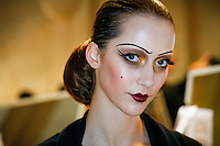 Alana Zimmer Backstage at Christian Dior Couture Fall 2007