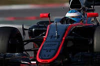 ALONSO fernando (spa) mclaren honda mp430 action during Formula 1 winter tests 2015 at Barcelona, Spain from February 19th to 22nd. Photo DPPI / Jean Michel Le Meur.
