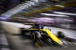 September 20, 2019, Singapore, Singapore: Motorsports: FIA Formula One World Championship 2019, Grand Prix of Singapore, ..#3 Daniel Ricciardo (AUS, Renault F1 Team) (Credit Image: © Hoch Zwei via ZUMA Wire)