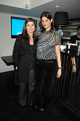 Left to right, VANESSA WINGATE and KATRINA PAVLOS at the Grand Classic screening of The Apartment held at The Electric Cinema, 191 Portobello Road, London on 16th March 2008.<br />