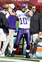 05 November 2011:  Cody Reardon during an NCAA football game between the Western Illinois Leathernecks and the Illinois State Redbirds at Hancock Stadium in Normal IL