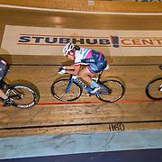 Carson, California --  Cycle riders practice at the Stubhub Velodromne Center