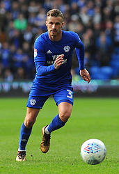 Joe Bennett of Cardiff City in action- Mandatory by-line: Nizaam Jones/JMP - 10/03/2018 -  FOOTBALL -  Cardiff City Stadium- Cardiff, Wales -  Cardiff City v Birmingham City - Sky Bet Championship