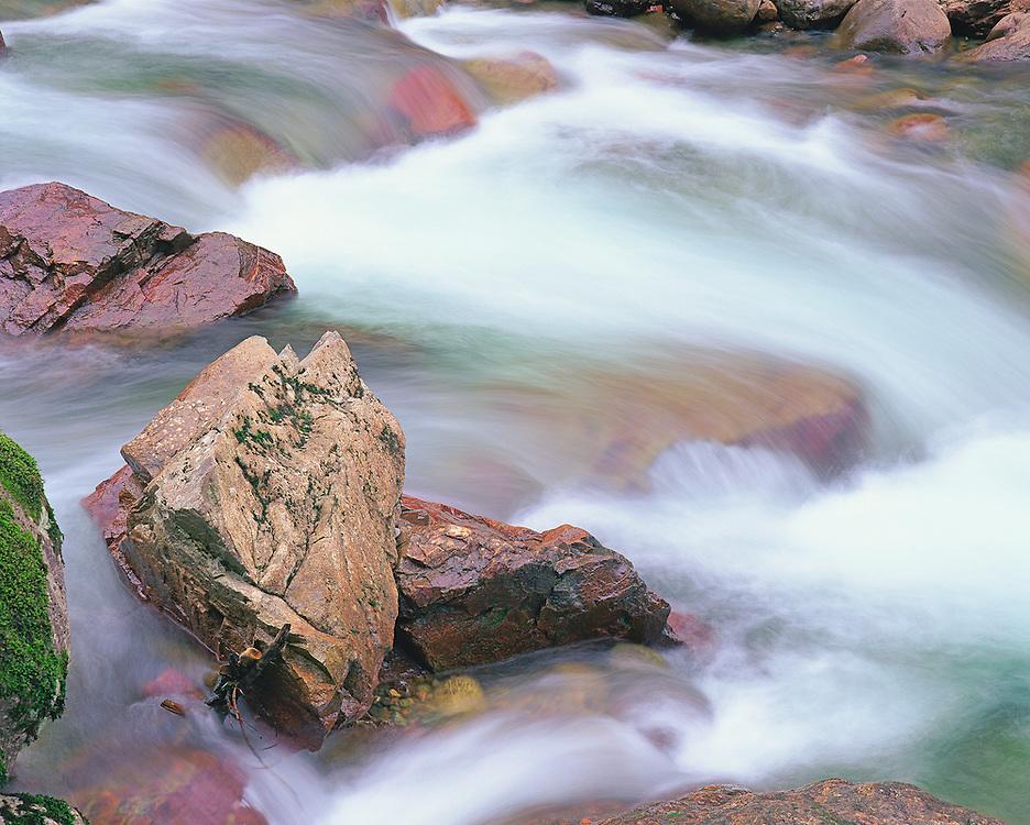 spring surge on Sauk River Washington State