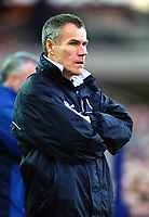 Peter Taylor the Leicester Manager. Leicester City v Leeds United. FA Premiership, 2/12/00. Credit: Colorsport / Nick Kidd.