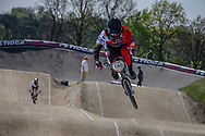 #198 (BERNHART Jacob) GER at the 2016 UCI BMX Supercross World Cup in Papendal, The Netherlands.