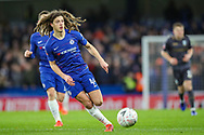 Chelsea midfielder Ethan Ampadu (44) during the The FA Cup fourth round match between Chelsea and Sheffield Wednesday at Stamford Bridge, London, England on 27 January 2019.
