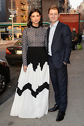 April 12, 2018 - New York, NY, USA - April 12, 2018  New York City..Morena Baccarin and Ben McKenzie attending Swarovski Times Square store party celebration at Hudson Mercantileon April 12, 2018 in New York City. (Credit Image: © Kristin Callahan/Ace Pictures via ZUMA Press)