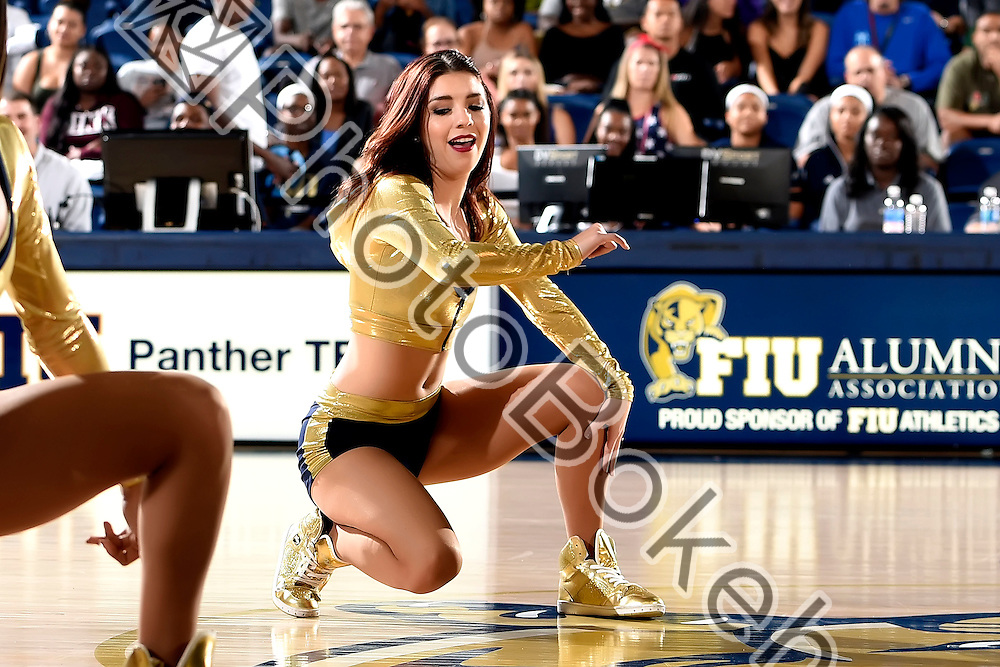 2016 November 11 - FIU Golden Dazzlers performing at FIU Arena, Miami, Florida. (Photo by: Alex J. Hernandez / photobokeh.com) This image is copyright by PhotoBokeh.com and may not be reproduced or retransmitted without express written consent of PhotoBokeh.com. ©2016 PhotoBokeh.com - All Rights Reserved