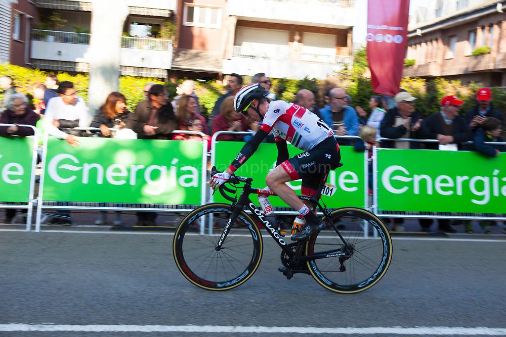 Irish professional cyclist Dan Martin, Volta Catalunya 2019