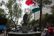 Voluntarios. Alvaro Obregón 286, Ciudad de México. 21 de septiembre de 2017  (Foto: Prometeo Lucero)