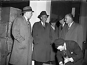 Robert Baumle Meyner (03/03/1908 - 27/05/1990) of Phillipsburg, New Jersey was an American Democratic Party politician, who served as the 44th Governor of New Jersey, from 1954 to 1962. While Governor of New Jersey he visited Ireland. 07/04/1958.
