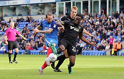 Jack Marriott of Peterborough United scores the winning goal - Mandatory by-line: Joe Dent/JMP - 23/09/2017 - FOOTBALL - ABAX Stadium - Peterborough, England - Peterborough United v Wigan Athletic - Sky Bet League One