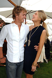 SAM BRANSON and ISABELLA ANSTRUTHER-GOUGH-CALTHORPE at the Cartier International polo at Guards Polo Club, Windsor Great Park on 29th July 2007.<br /><br />NON EXCLUSIVE - WORLD RIGHTS