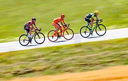 05.07.2017, Altheim, AUT, Ö-Tour, Österreich Radrundfahrt 2017, 3. Etappe von Wieselburg nach Altheim (226,2km), im Bild Peter Kusztor (HUN, Amplatz BMC), Jan Tratnik (SLO, CCC Sprandi Polkowice), Maximilian Hammerle (AUT, Team Vorarlberg) // Peter Kusztor (HUN Amplatz BMC) Jan Tratnik (SLO CCC Sprandi Polkowice) Maximilian Hammerle (AUT Team Vorarlberg) during the 3rd stage from Wieselburg to Altheim (199,6km) of 2017 Tour of Austria. Altheim, Austria on 2017/07/05. EXPA Pictures © 2017, PhotoCredit: EXPA/ JFK
