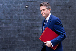 © Licensed to London News Pictures. 24/04/2018. London, UK. Defence Secretary Gavin Williamson on Downing Street for the weekly Cabinet meeting. Photo credit: Rob Pinney/LNP