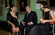 Clare Barnett, Lord Weidenfeld and Alina Barnett. Celebration of Lord Weidenfeld's 60 Years in Publishing hosted by Orion. the Weldon Galleries. National Portrait Gallery. London. 29 June 2005. ONE TIME USE ONLY - DO NOT ARCHIVE  © Copyright Photograph by Dafydd Jones 66 Stockwell Park Rd. London SW9 0DA Tel 020 7733 0108 www.dafjones.com