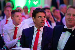 CARDIFF, WALES - Wednesday, June 1, 2016: Wales' manager Chris Coleman during a charity send-off gala dinner at the Vale Resort Hotel ahead of the UEFA Euro 2016. (Pic by David Rawcliffe/Propaganda)