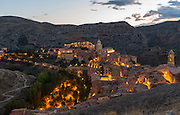 The town is named for the Moorish Al Banū Razín family that once had been dominant in the area during the period of Muslim domination in the Iberian Peninsula.<br /> <br /> From 1167 to 1300, Albarracín was an independent lordship known as the Sinyoría d'Albarrazín.<br /> Zaragoza is the capital of northeastern Spain's Aragon region. Overlooking the Ebro River in the city center is baroque Nuestra Señora del Pilar basilica, a famous pilgrimage site with a shrine to the Virgin Mary