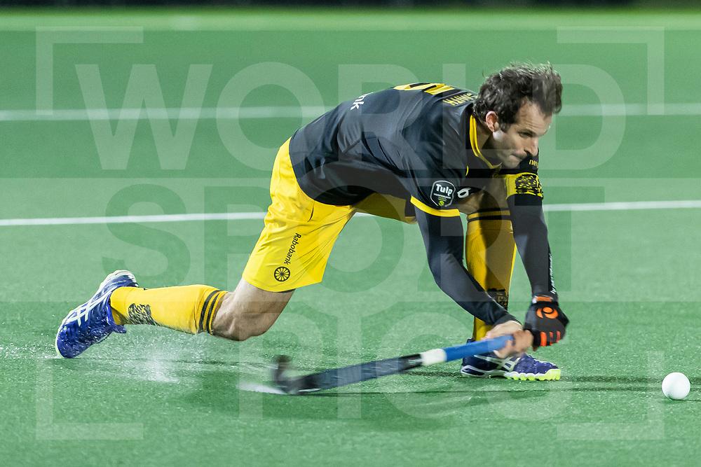 Rotterdam, Tulp Hoofdklasse Hockey Heren, Seizoen 2020-2021, 16-04-2021, Rotterdam - Den Bosch 0-3, Austin Smith (a) (Den Bosch)<br /><br /> COPYRIGHT WORLDSPORTPICS WILLEM VERNES