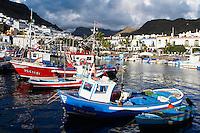 Espagne. Iles Canaries. Grande Canarie. Puerto de Mogan. // Spain. Canary islands. Gran Canaria. Puerto de Mogan.