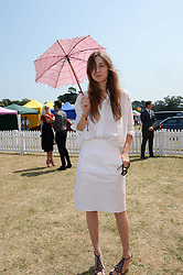 VALENTINE FILLOL CORDIER at the Veuve Clicquot Gold Cup, Cowdray Park, Midhurst, West Sussex on 21st July 2013.