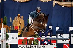 Asselin, Ben (CAN), Cool Feeling<br /> München - Munich Indoors 2016<br /> Youngster Tour<br /> © www.sportfotos-lafrentz.de / Stefan Lafrentz