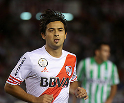 10.12.2014, River Plate Stadium, Buenos Aires, ARG, Südamerika Cup 2014, River Plate vs Atletico Nacional de Medellin, im Bild River Plate football player Leonardo Pisculicchi // during the 2nd final match of Southamerican Cup between River Plate vs Atletico Nacional and Medellin at the River Plate Stadium in Buenos Aires, Argentina on 2014/12/10. EXPA Pictures © 2014, PhotoCredit: EXPA/ Eibner-Pressefoto/ Cezaro<br /> <br /> *****ATTENTION - OUT of GER*****