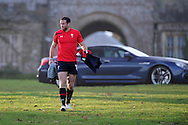 Jamie Roberts. Wales rugby team training at the Vale, Hensol, near Cardiff on Thursday 29th November 2012. the team are preparing for their final Autumn international match against Australia this Saturday. pic by Andrew Orchard, Andrew Orchard sports photography,