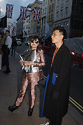 LINDA COOPER, Unblock, magazine specialising in art, fashion and culture hosts launch party.  <br /> Contini Art UK, 105-106 New Bond Street, London, 14 June 2016
