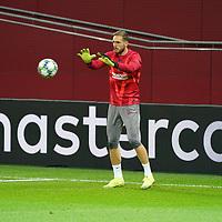 06.11.2019, BayArena, Leverkusen, Championsleague, Vorrunde, 4. Spieltag, GER, UEFA  CL, Bayer 04 Leverkusen (GER) vs. Atletiko Madrid (ESP),<br />  <br /> UEFA regulations prohibit any use of photographs as image sequences and/or quasi-video<br /> <br /> im Bild / picture shows: <br /> Jan Oblak Torwart (Atletico Madrid #13),  <br /> <br /> Foto © nordphoto / Meuter<br /> <br /> <br /> <br /> Foto © nordphoto / Meuter