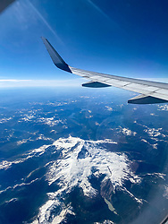 Over The Chilean Andes
