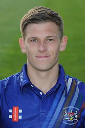Gloucestershire player, Tom Hampton - Photo mandatory by-line: Dougie Allward/JMP - 07966 386802 - 10/04/2015 - SPORT - CRICKET - Bristol, England - Bristol County Ground - Gloucestershire County Cricket Club Photocall.