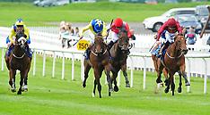 Ireland- Racing at Curragh Racecourse, Co. Kildare