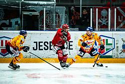 Saso Rajsar Alps League Ice Hockey match between HDD SIJ Jesenice and Migross Supermercati Asiago Hockey on April 17, 2021 in Ice Arena Podmezakla, Jesenice, Slovenia. Photo by Peter Podobnik / Sportida