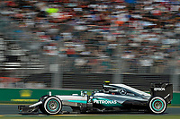 ROSBERG Nico (ger) Mercedes GP MGP W07 action during 2016 Formula 1 championship at Melbourne, Australia Grand Prix, from March 18 To 20 - Photo Eric Vargiolu / DPPI