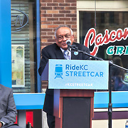 Rail Rally, Kansas City Streetcar construction, July 29, 2015.