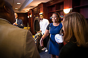 """To kick off the first Chancellor's Speaker Series of the 2018-19 academic year, North Carolina Agricultural and Technical State University hosts veteran journalist, ESPN correspondent, columnist and former co-host of the flagship """"SportsCenter,"""" Jemele Hill on Tuesday, Sept. 18, 2018 at the Alumni-Foundation Event Center. <br /> <br /> Hill, along with moderator, alumnus and N.C. A&T football hall of famer Darryl Klugh '00, '03, discusses """"Self-Expression and Sports,"""" touching on current topics surrounding sports in America, social media and life after sports.<br /> <br /> <br /> (Chris English / Tigermoth Creative )"""