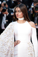 Actress Sonam Kapoor at the gala screening for the film Mal De Pierres (From the Land of the Moon) at the 69th Cannes Film Festival, Sunday 15th May 2016, Cannes, France. Photography: Doreen Kennedy