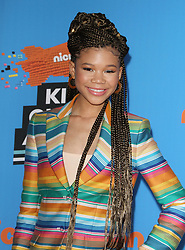 The 31st Annual Nickelodeon Kids' Choice Awards at The Forum in Inglewood, California on 3/24/18. 24 Mar 2018 Pictured: Storm Reid. Photo credit: River / MEGA TheMegaAgency.com +1 888 505 6342