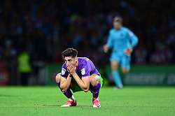 Callum O'Dowda of Bristol City cuts a dejected figure - Mandatory by-line: Dougie Allward/JMP - 15/08/2017 - FOOTBALL - Griffin Park - Brentford, England - Brentford v Bristol City - Sky Bet Championship