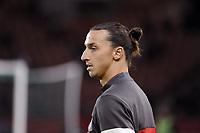 FOOTBALL - FRENCH CHAMPIONSHIP 2012/2013 - L1 - PARIS SAINT GERMAIN v TOULOUSE FC - 14/09/2012 - PHOTO ALAIN GADOFFRE / REGAMEDIA / DPPI - ZLATAN IBRAHIMOVIC (PSG)
